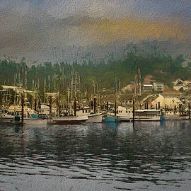 Bayside In Paint by Bill Posner