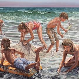 Beach Construction by Gary M Long