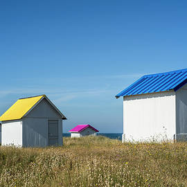 Beach Huts by Arterra Picture Library