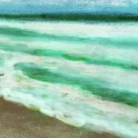 Beach Life. Waves and colour's, What a Sight. by Julie Grimshaw