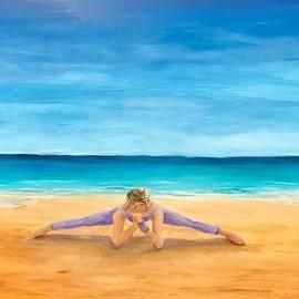 Beach Yoga by Deborah Naves