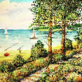 Beachside Vacation by Dariusz Orszulik