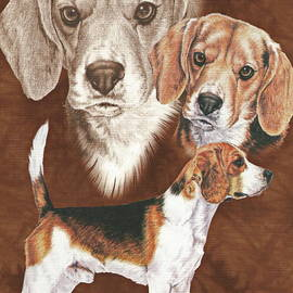Beagle Alteration by Barbara Keith