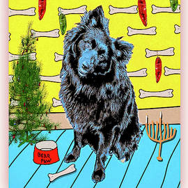 Bear Paw Holiday by Lou Novick