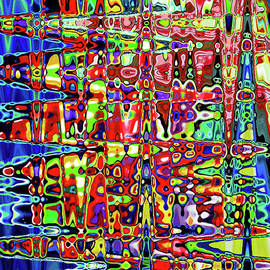 Beaujolais Abstract by Genevieve Esson