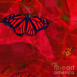 Strong and Fragile in Red by Zsanan Studio