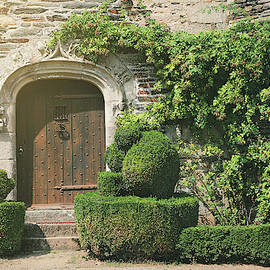 Beautiful door in nothern France, Brittany, Europe by Masha Lince