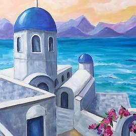 Beautiful Santorini by Rosie Sherman
