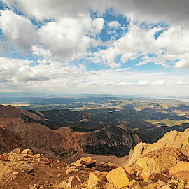 Beautiful View From Pike's Peak Colorado Springs Colorado by Toby McGuire