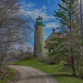 Beaver Island Lighthouse by Mike Griffiths
