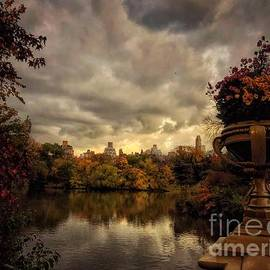 Before the Storm - Central Park New York by Miriam Danar