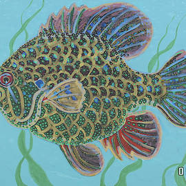 Bejeweled Bluegill by Todd  Peterson