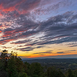 Bellvale Creamery Sunset by Angelo Marcialis