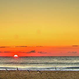 Belmar sunrise by Geraldine Scull