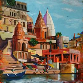 Benares 3  by Aarti Bartake