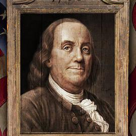 Benjamin Franklin by Mark Miller