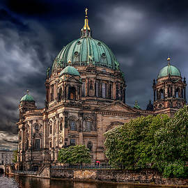 Berlin Cathedral After The Storm by Endre Balogh
