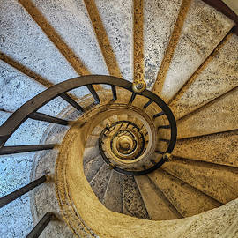 Bernini Staircase - Jo Ann Tomaselli by Jo Ann Tomaselli