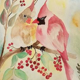 Berry Much in Love by Maria Urso