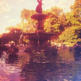 Bethesda Fountain - Central Park New York by Miriam Danar