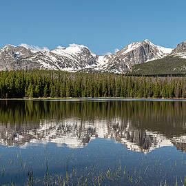 Bierstadt Lake In Rocky Mountain National Park by Brenda Jacobs