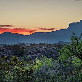 Big Bend Sunrise by David Morefield
