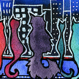 Big City Cats by Dora Hathazi Mendes