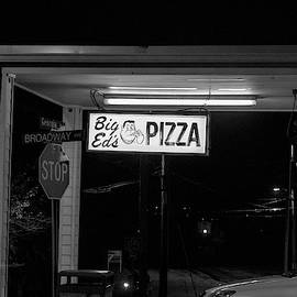 Big Eds Pizza Sign by Sharon Popek