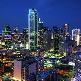 Dallas Skyline by Harriet Feagin