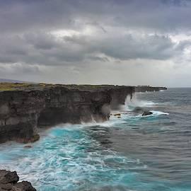 Big Island Coastline by Heidi Fickinger