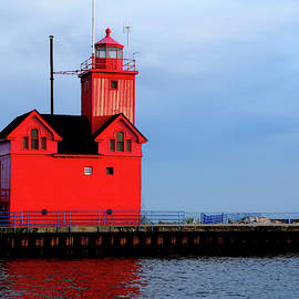 Rosemarie Culver - Big Red Lighthouse at Holland Michigan #2