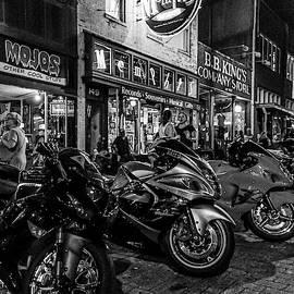 Bikes on Beale Street by Sean Sweeney