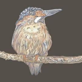 Bird Painting by Marshal James