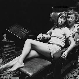 Birkin And Gainsbourg by Reg Lancaster