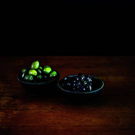 Black and Green Olives by Cassi Moghan