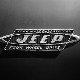 Black And White Jeep Fc Badge by Luke Moore