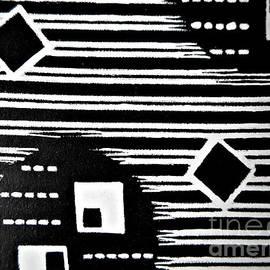 Black And White Pattern-10 by Katerina Stamatelos