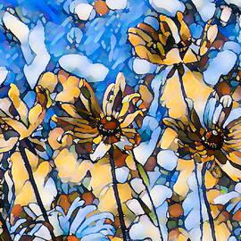 Black Eyed Susan Flower 20 by Jeelan Clark