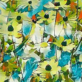 Black Eyed Susan Flower 29 by Jeelan Clark