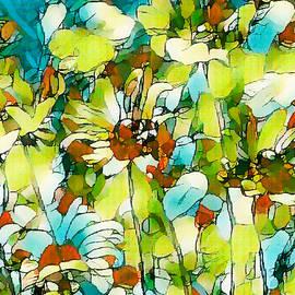 Black Eyed Susan Flower  43 by Jeelan Clark