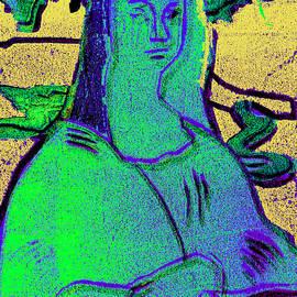 Black Ivory Mona Lisa 64 by Artist Dot