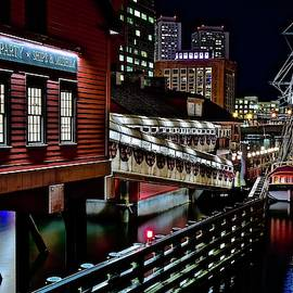 Black Night at the Boston Tea Party by Frozen in Time Fine Art Photography