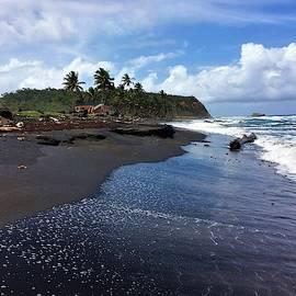Black Sand Beach 2 by Rose Wark