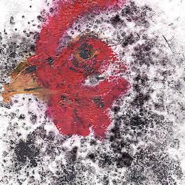 Black Speckle Hen by SB Boursot