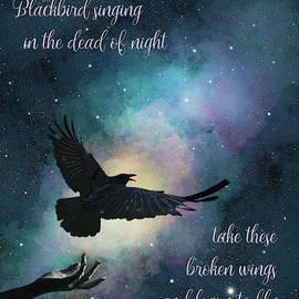 Blackbird Singing With Lyrics by Nikki Marie Smith