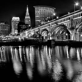 Blackest of Nights in CLE by Frozen in Time Fine Art Photography