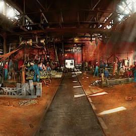 Blacksmith - Forging ahead 1905 by Mike Savad