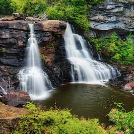 Blackwater Falls WV by Kathi Isserman