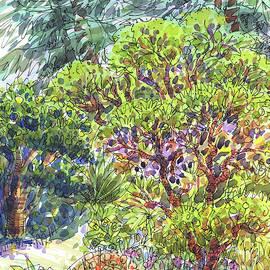 Blake Garden, Berkeley Ca by Judith Kunzle