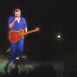 Blake Shelton At Concert by Dan Friend
